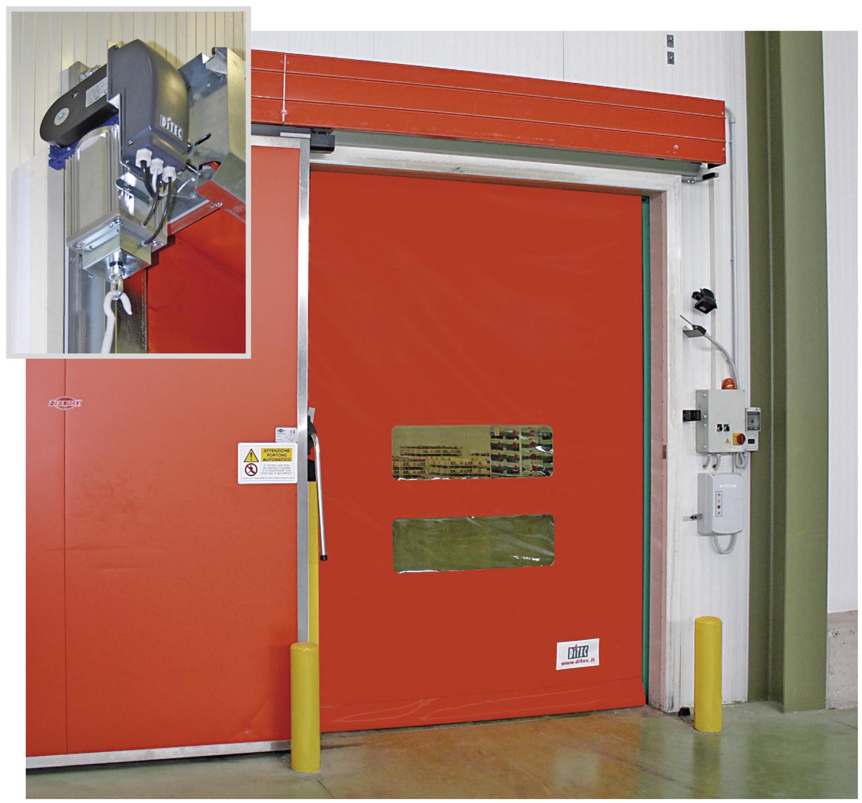 Smart Reset Roll up door from Apex Strip Curtains & Doors