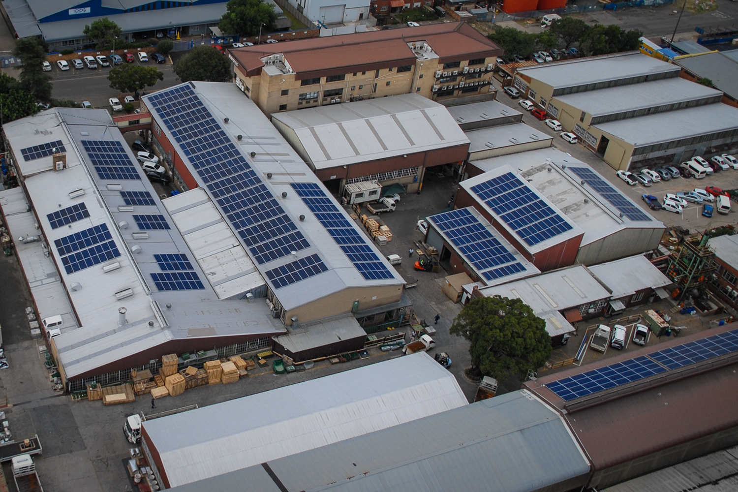 Multotec installs green energy